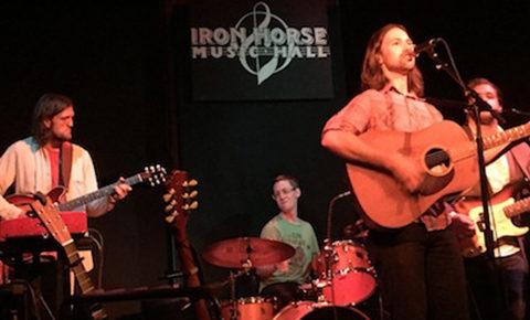 Justin Hillman at the Iron Horse Music Hall in Northampton, Mass.